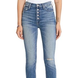 Mother The Pixie Dazzler Ankle Fray- Size 28